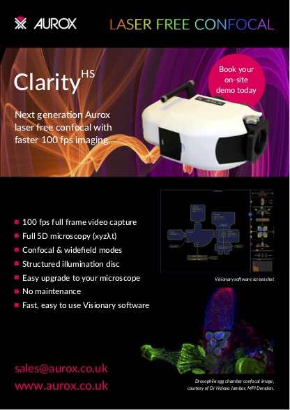 Clarity HS A5 flier - English